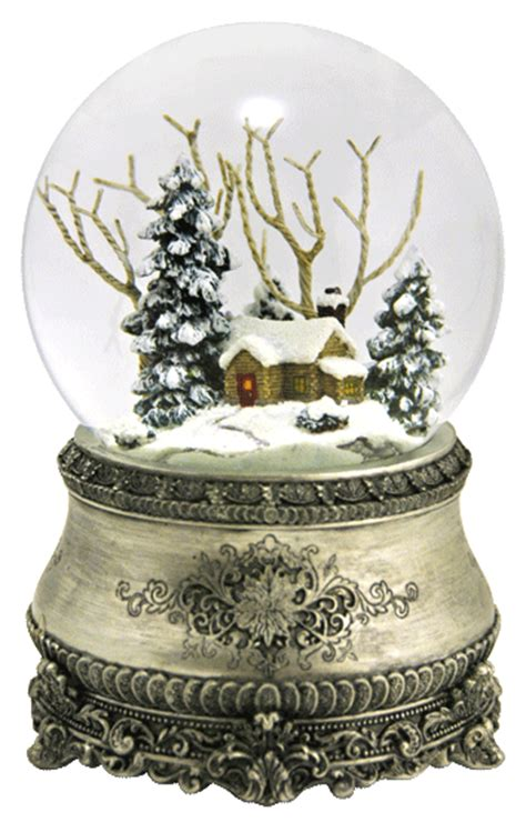 the most beautiful christmas snow globe ever plays quot i ll