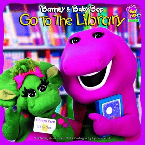 Barney Lets Go To The Doctor Story Book barney baby bop go to the library by s bernthal reviews discussion bookclubs lists