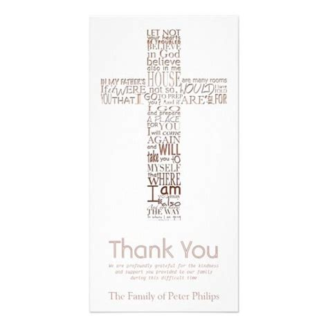 religious thank you card template 50 best religious sympathy thank you cards images on
