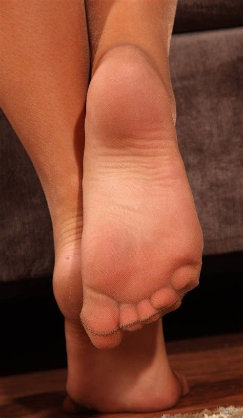 77 best pretty feet in nylon images on pinterest
