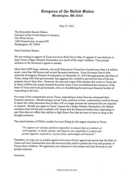 Sle Appeal Letter To Immigration For Citizenship U S Congressman Michael C Burgess 26th District Of