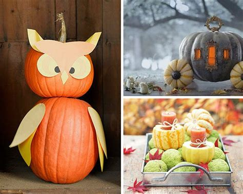 diy ways to decorate your home with pumpkins diy ready