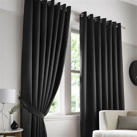 contempo curtains contempo black ring top eyelet curtains eyelet curtains