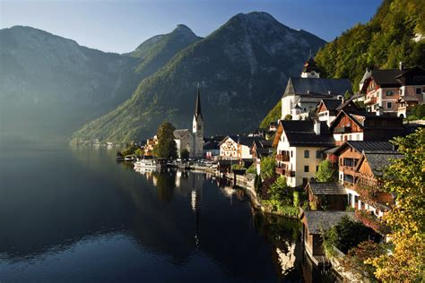 hallstatt austria hallstatt austria travel dream destinations pinterest