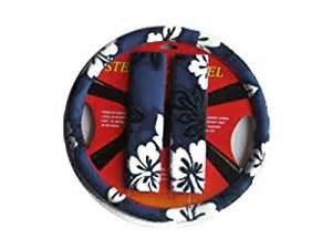 Steering Wheel Covers Hawaiian Hawaiian Steering Wheel Cover And Shoulder Pad