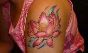 Lotus Flower Shoulder Lotus Flower On Shoulderdenenasvalencia