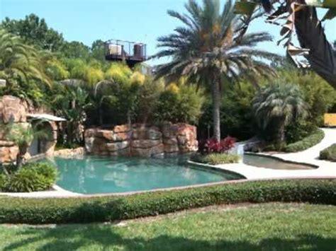 Joey Fatone Cribs joey fatone s pool