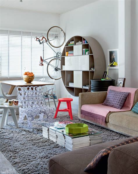 Interior Design On A Budget | cheerful and interesting interior on a budget decoholic
