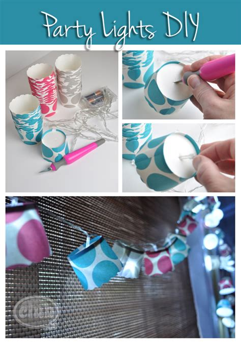 home made birthday decorations decor lighting club chica circle where crafty is contagious