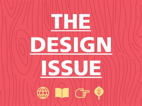 design issues the design issue challenge online
