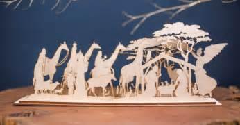 wooden nativity set christmas in africa elsje design
