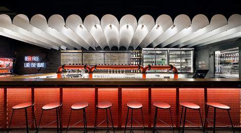 ater architects designs craft beer bar punkraft  kiev