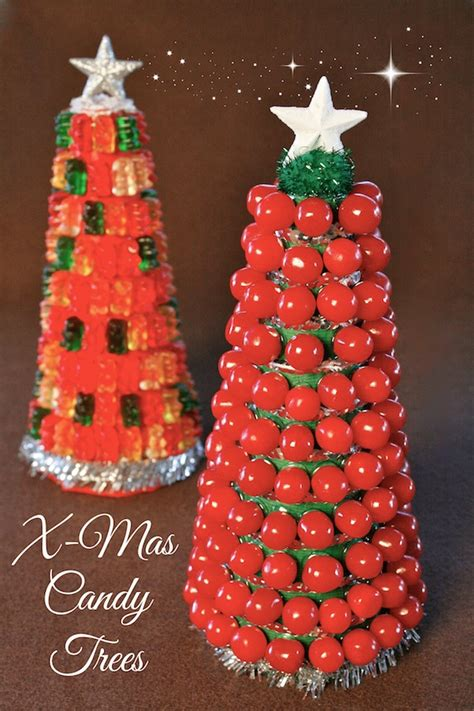 food craft how to build a candy christmas tree