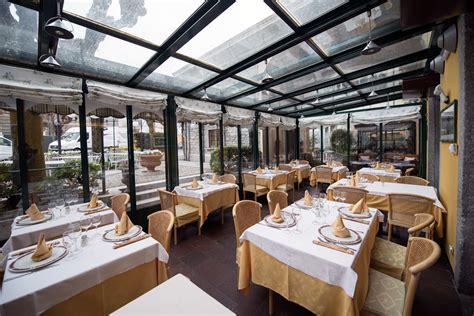 ristorante in veranda ristoranti lago di como la veranda