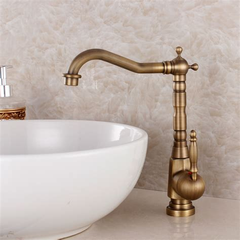 Vintage Kitchen Sink Faucets Aliexpress Buy Fashion Bronze Faucet Antique Kitchen Mixer Basin Mixer Vintage Sink Faucet