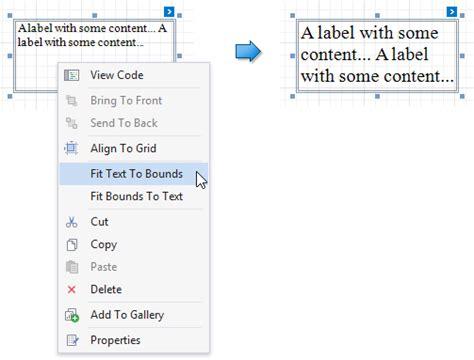 devexpress printable area label reporting devexpress help