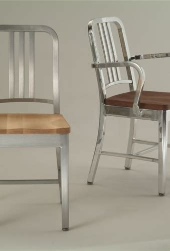 Aluminum Office Furniture The Aluminum Chair By Emeco