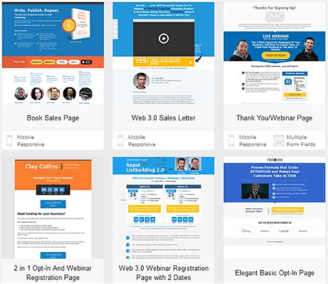 lead pages templates the leadpages marketplace a for early adoption