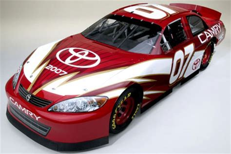 picture of the 2007 toyota camry nascar entry chads