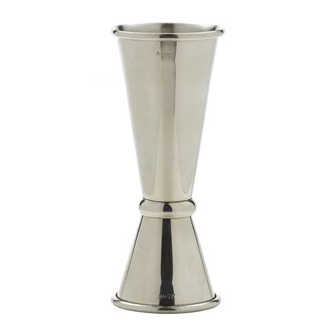 Jigger Stainless 25 50 Ml genware stainless steel jigger 25 50ml crosbys
