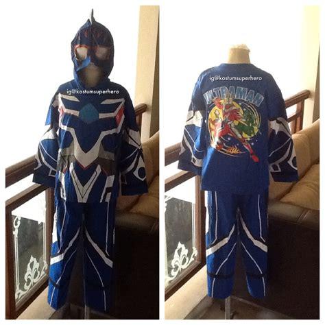 film ultraman anak baju kostum anak anak ultraman biru superheroku