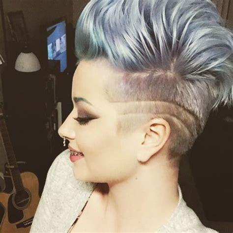 undercut mohawk hairstyle hurrrrr undercut mohawk hair styles pinterest