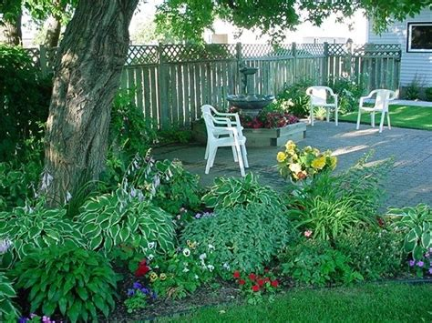 landscaping ideas for front yard with shade garden design