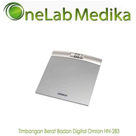 timbangan berat badan digital omron hn 283 onelab medika