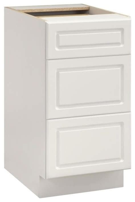 3 drawer kitchen cabinet ameriwood keystone 15 quot 3 drawer base cabinet in white