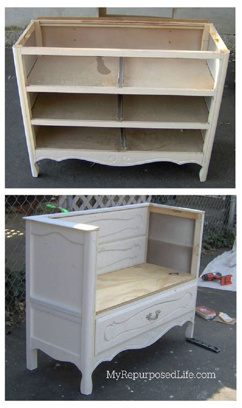 dresser bench top 10 clever ways to repurpose an old dresser