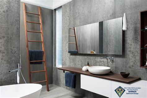 bathroom decor australia minosa australian hia bathroom design of the year 2017