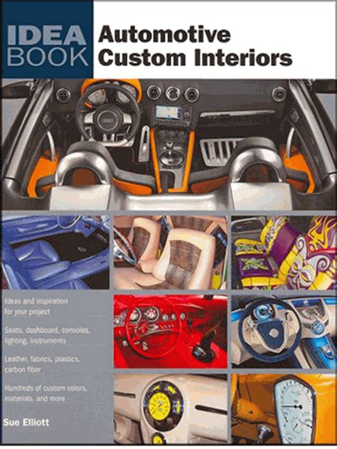 car upholstery books automotive custom interiors seats dashboards consoles etc