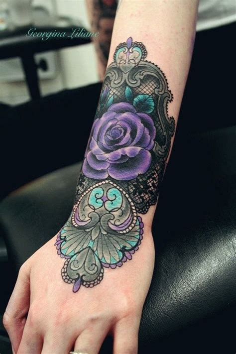 45 best purple rose tattoo best 25 purple tattoos ideas on purple