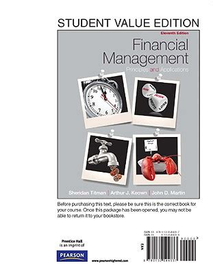 economics of managerial decisions the student value edition books financial management principles and applications student