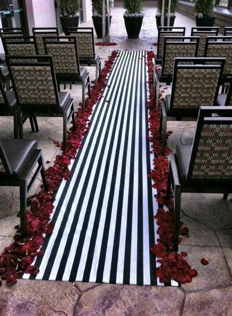 Wedding Aisle Runner Etsy by Wedding Black And White Stripe Aisle Runner 150 00 Via