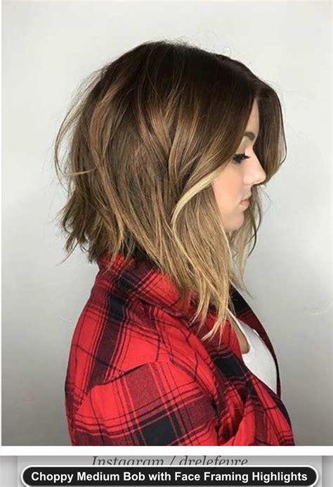 long choppy layered hairstyles inverted bob medium choppy inverted bob long bob definitely thinking
