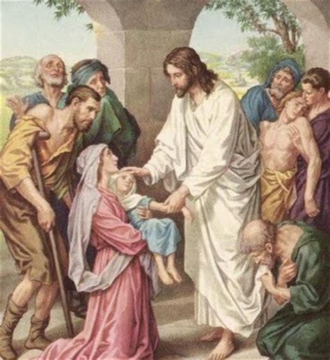 imagenes de jesus sanando un ciego blog catolico jesus te sana oracion de sanaci 211 n por un