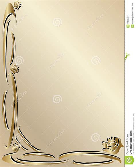 wedding golden border 7 best images of free printable wedding borders gold