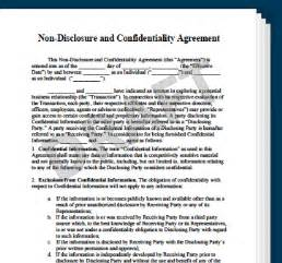 Financial Planning Agreement Template by Non Disclosure Confidentiality Agreement Create An Nda