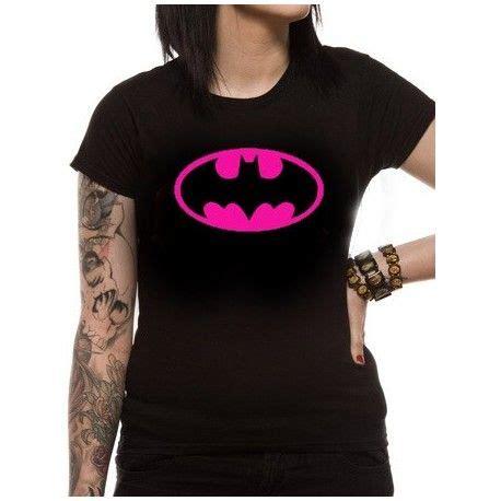 Bubblechats Pink Batman T Shirt t shirt femme batman block pink logo