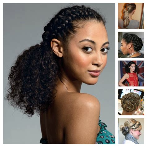 hairstyles for mixed curly hair hairstyles for mixed hair hairs picture