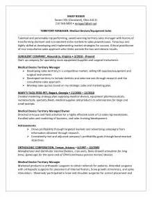 Territory Sales Manager Resume Sample Territory Sales Manager Job Description