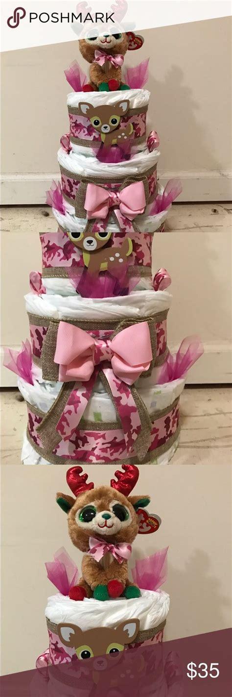 camo diaper cake ideas  pinterest camo baby