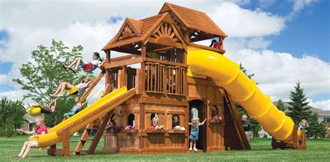 awesome swing sets now this would be and awesome swing set swingset ideas