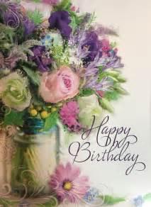 124 best happy birthday flower images on