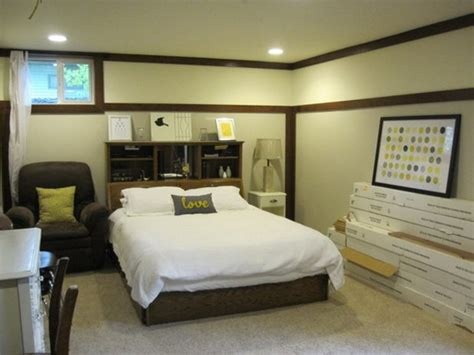 Basement Bedroom for Teenage Boys