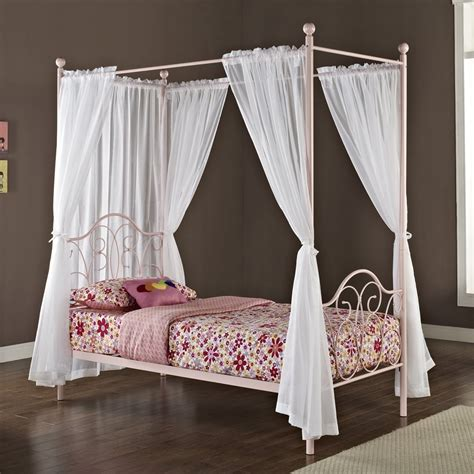 girl canopy bed curtains canopy beds for girls kids furniture ideas
