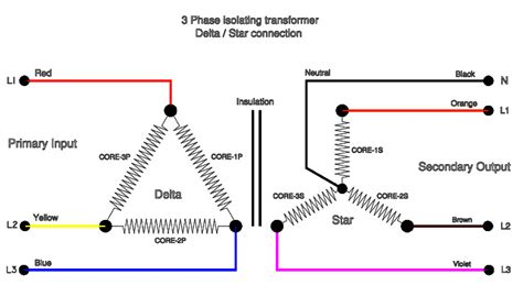 3 phase delta wye transformer wiring diagram get free