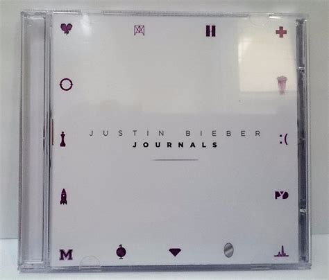 justin bieber novo album journals justin bieber cd journals com encarte r 24 90 em