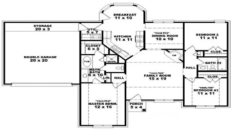 open floor house plans one story google search house open floor house plans 1 story single story open floor